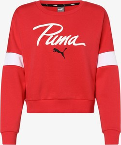 Różowa bluza Puma krótka