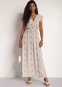 Sukienka Renee z krótkim rękawem maxi w stylu boho