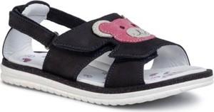 Granatowe buty dziecięce letnie Lasocki Kids
