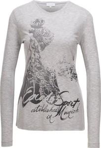 Bluzka Escada Sport z długim rękawem z tkaniny w stylu casual