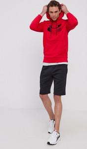 Czerwona bluza Under Armour z dzianiny
