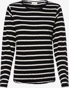 Granatowy t-shirt Marc O'Polo DENIM z okrągłym dekoltem