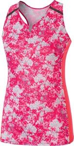 Różowy t-shirt Mizuno