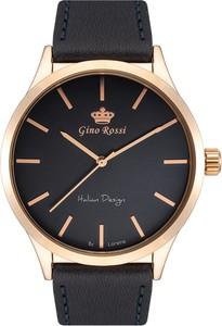 Zegarek męski Gino Rossi - BIGER - 10856A - Granatowy mk