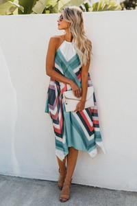 Sukienka Ivet.pl oversize midi z bawełny
