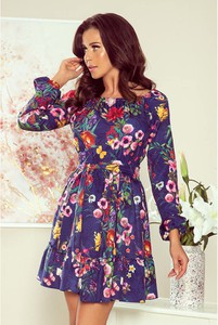 Granatowa sukienka NUMOCO
