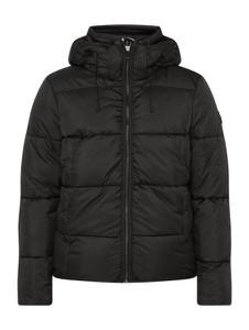 Czarna kurtka Tom Tailor Denim krótka w stylu casual