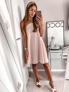 Sukienka L'Amour z dekoltem w kształcie litery v w stylu casual oversize