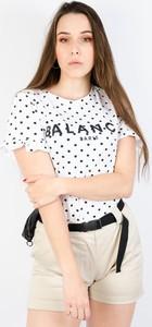 T-shirt Olika z okrągłym dekoltem z krótkim rękawem