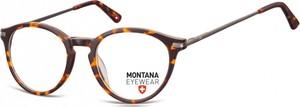 Stylion Okrągłe oprawki optyczne,lenonki korekcyjne Montana MA63A panterka