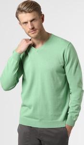 Zielony sweter Finshley & Harding z bawełny