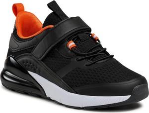 Czarne buty sportowe dziecięce Bartek dla chłopców