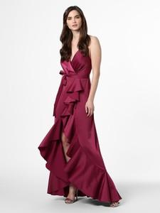 Czerwona sukienka Marie Lund kopertowa maxi na ramiączkach