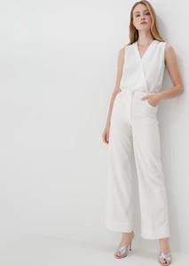 Bluzka Mohito bez rękawów w stylu casual z dekoltem w kształcie litery v