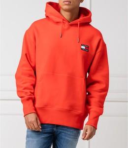 Czerwona bluza Tommy Jeans w stylu casual
