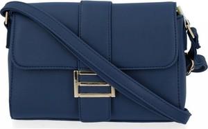 Niebieska torebka Herisson ze skóry ekologicznej