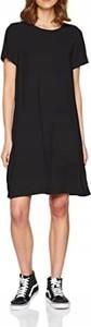 Czarna sukienka Only mini w stylu casual z okrągłym dekoltem