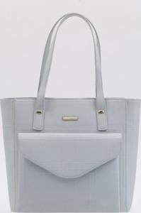 9379bd7aac92d Szare torebki i torby ze skóry ekologicznej Monnari, kolekcja wiosna ...