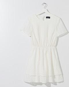 Sukienka Mohito z bawełny z krótkim rękawem
