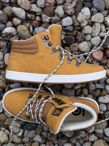 Brązowe buty zimowe Busta Grip