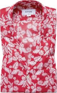 Koszula Eton z nadrukiem