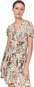 Sukienka Top Secret z krótkim rękawem w stylu casual koszulowa