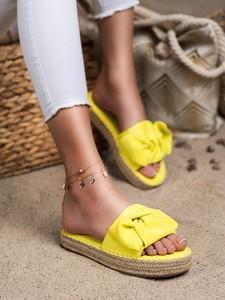 Żółte klapki Czasnabuty