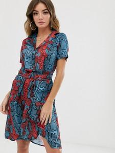 Sukienka NA-KD ze skóry mini