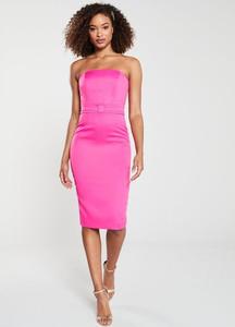 Różowa sukienka V by Very