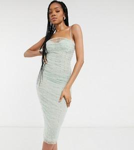 Sukienka Asos na ramiączkach midi