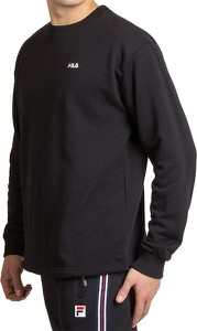 Czarna bluza Fila z bawełny w sportowym stylu
