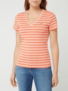 T-shirt Tommy Hilfiger z bawełny z krótkim rękawem w stylu casual