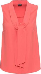 Bluzka bonprix BODYFLIRT z dekoltem w kształcie litery v w stylu casual