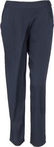 Spodnie Armani Jeans z jedwabiu