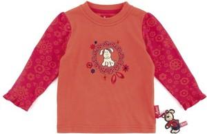 Czerwona bluzka dziecięca sigikid