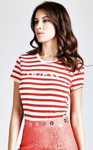 T-shirt Guess z bawełny w stylu casual