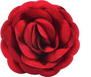 Em Men`s Accessories Wpinka do butonierki czerwony kwiat EM 10