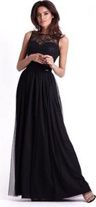Czarna sukienka Ivon maxi