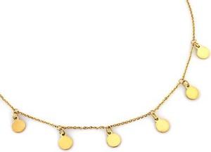 Lovrin Złoty naszyjnik 585 celebrytka kółeczka 2,34 g