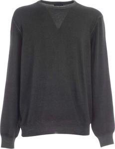 Czarny sweter Paolo Fiorillo Capri z wełny