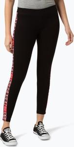Czarne legginsy Superdry w sportowym stylu
