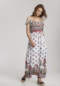 Sukienka Renee z krótkim rękawem w stylu boho