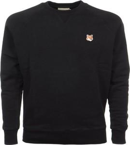 Czarny sweter Maison Kitsuné z wełny