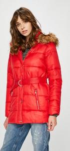 Czerwona kurtka Tally Weijl w stylu casual