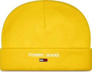 Żółta czapka Tommy Jeans