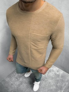 Brązowa bluza ozonee.pl z bawełny