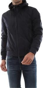 Czarna kurtka AT.P.CO krótka z bawełny