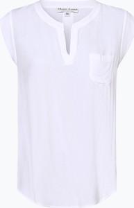 Czarna bluzka Marie Lund z dekoltem w kształcie litery v