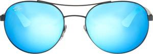 Turkusowe okulary damskie Ray-Ban