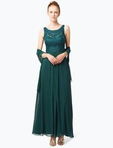 Sukienka Niente na ramiączkach z szyfonu